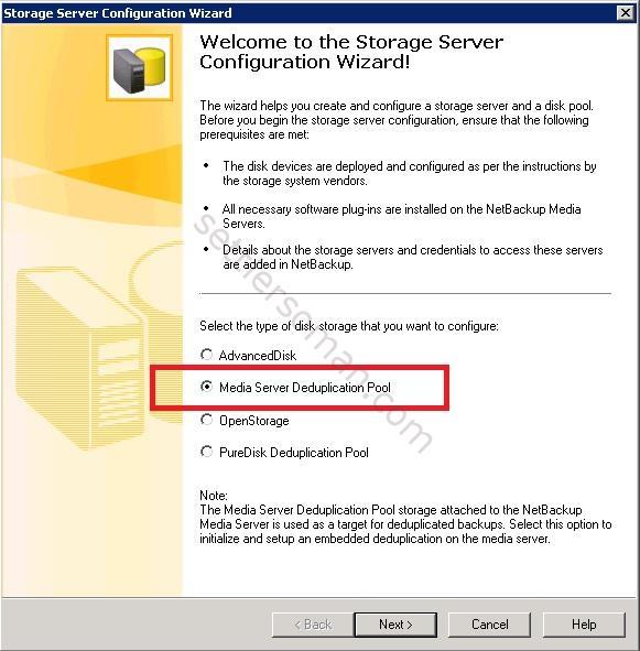 How to configure NetBackup Media Server Deduplication Pool (MSDP) 2