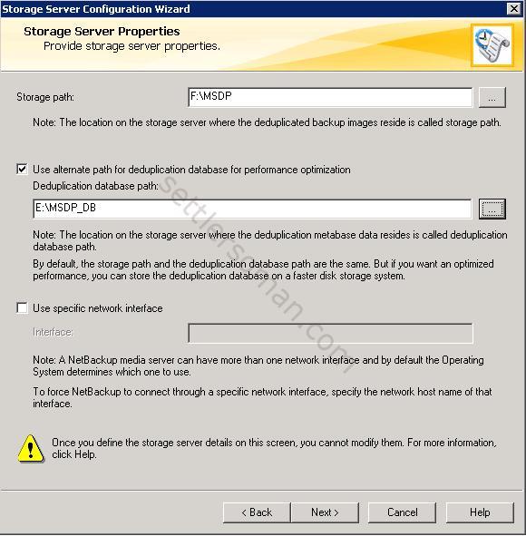 How to configure NetBackup Media Server Deduplication Pool (MSDP) 5