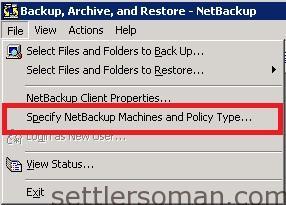NetBackup - restore VMware VM backup 2