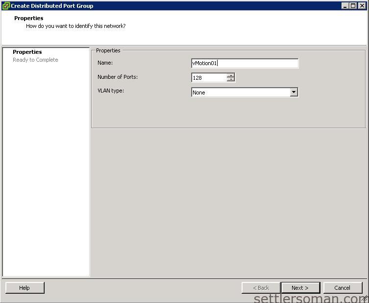 Set up Multi-NIC vMotion on vDS via vSphere Client 2
