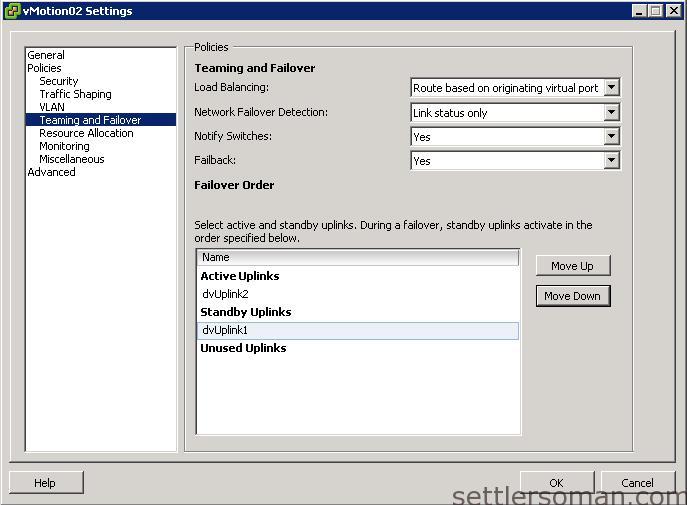 Set up Multi-NIC vMotion on vDS via vSphere Client 5