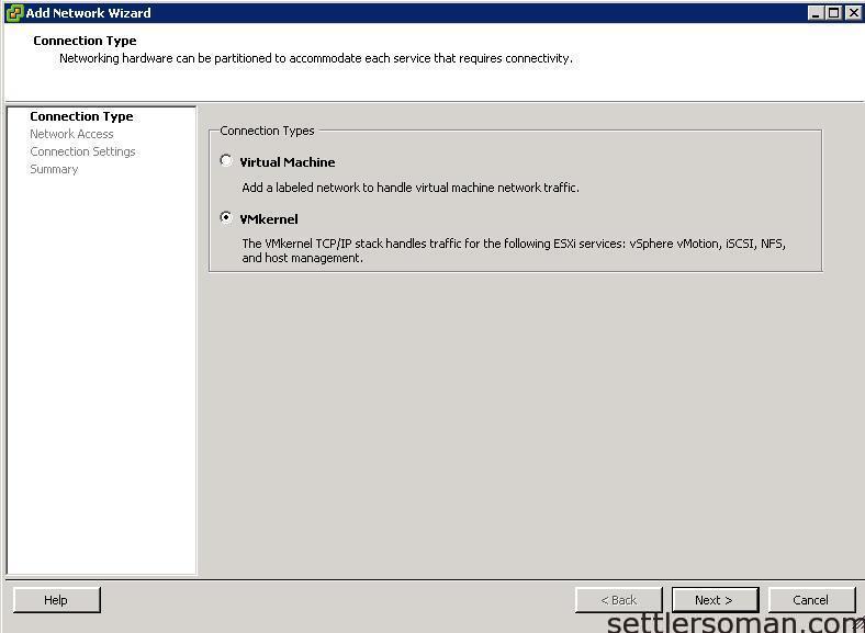 Set up Multi-NIC vMotion on vSS via vSphere Client 1