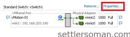 Set up Multi-NIC vMotion on vSS via vSphere Client 5