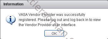 Failed to register NetApp VASA Provider - NBPF-00014: Unable to contact VASA server on host 2