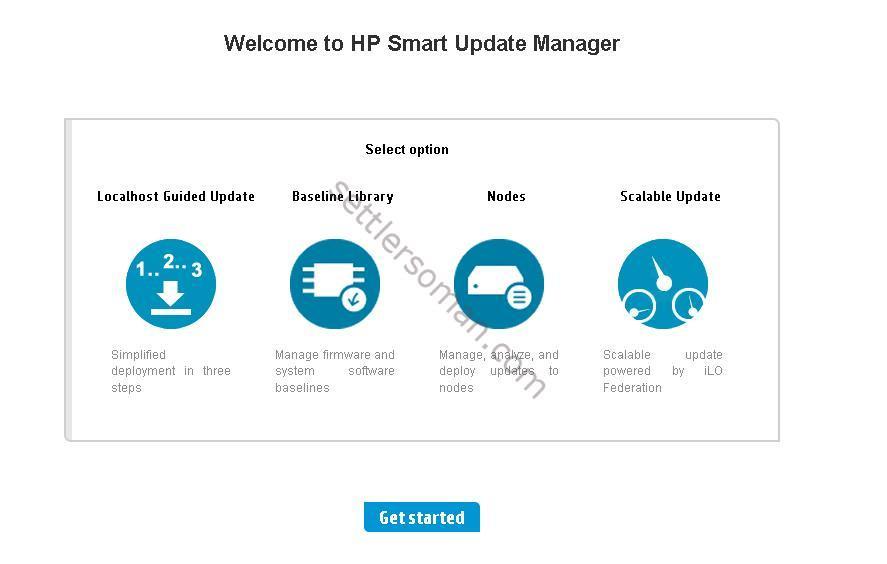 VMware vSphere on HP ProLiant Server: Driver and online offline firmware deployment options - SUM
