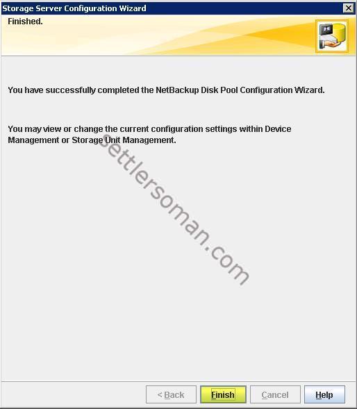 How to create Storage Unit (STU) on NetBackup Advanced Disk 9