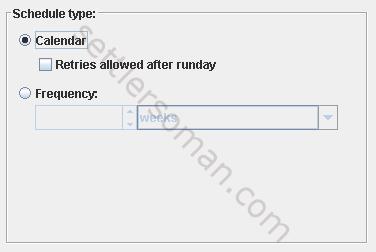 Veritas NetBackup basics: backup and scheduler types - schedules