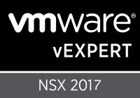 vExpert NSX 2017